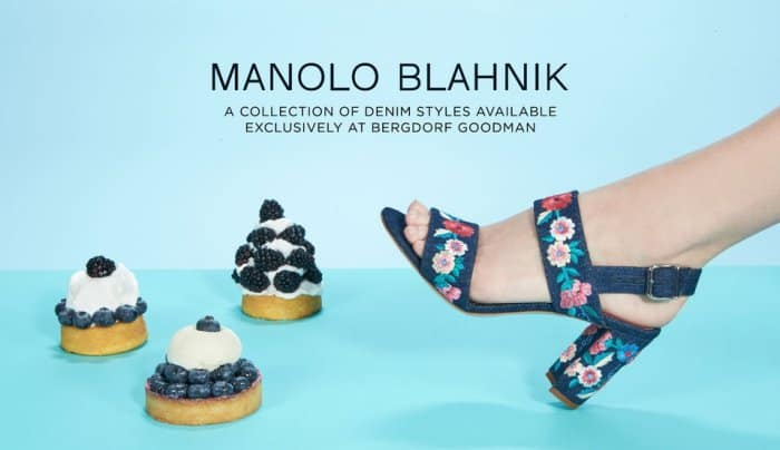 Manolo Blahnik Denim Styles