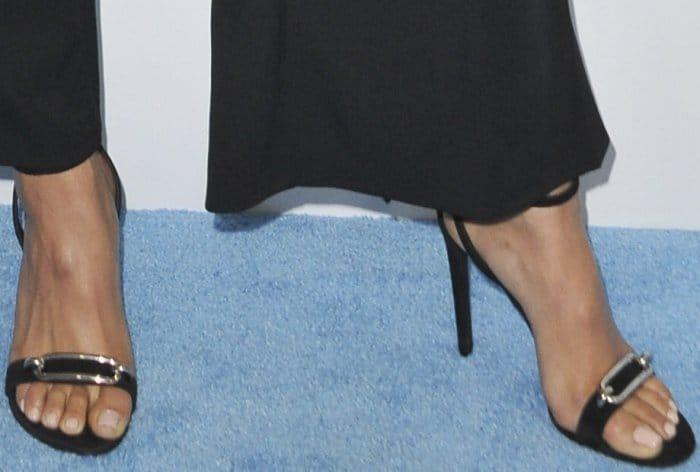 """Shay Mitchell rockingBalenciaga """"Maillon"""" sandals"""