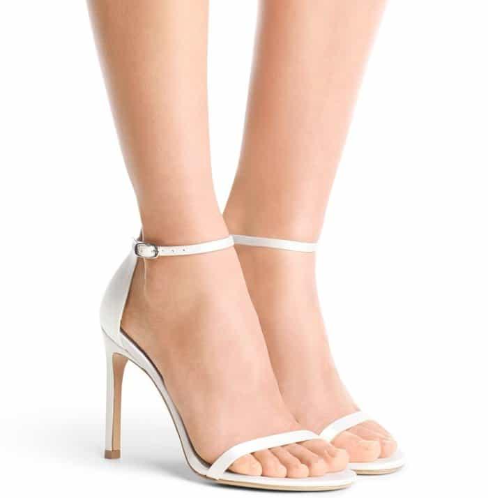 cf2c6871d610 Gigi Hadid Wears Pajamas and Stuart Weitzman  Nudistsong  Sandals