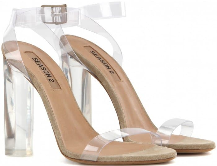 Yeezy Season 2 Transparent Sandals