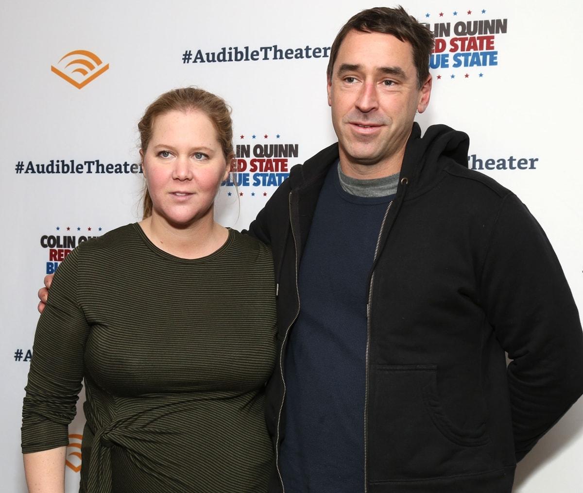 Amy Schumer met Chris Fischer during a weekend in Martha's Vineyard