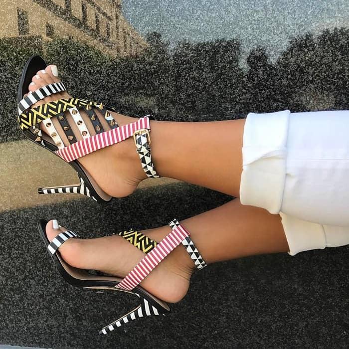 Multicolored 'Azurine' Sandals