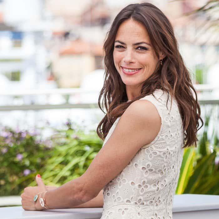 Berenice Bejo wearing Miu Miu at the 'Redoubtable' photocall during the 70th annual Cannes Film Festival at the Palais des Festivals in Cannes, France, on May 21, 2017