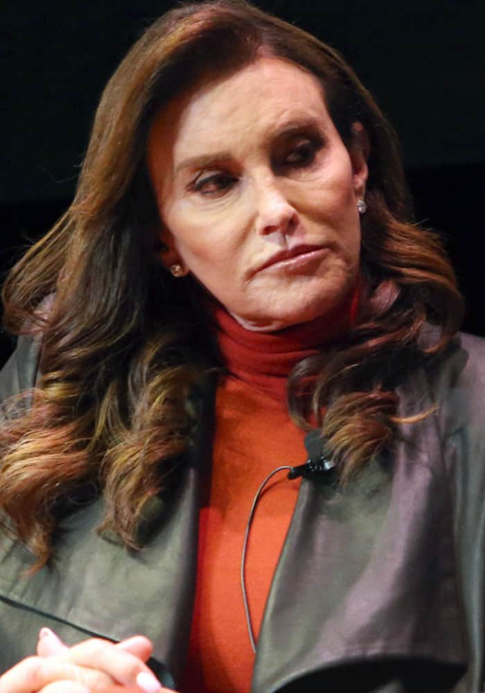Caitlyn Jenner discusses her new book 'The Secrets of My Life' at the Los Angeles Times Ideas Exchange on May 3, 2017