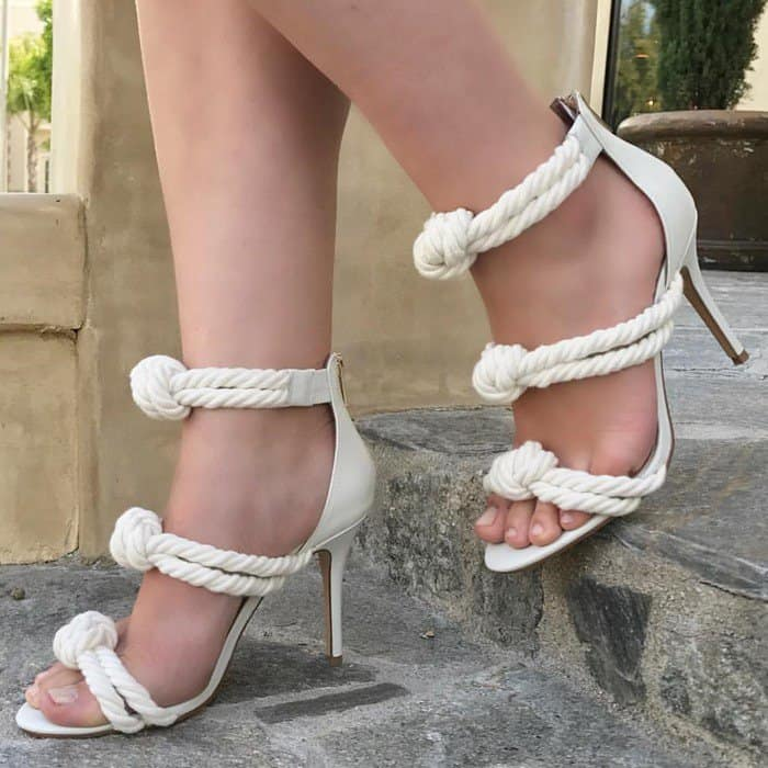 Knotted Rope 'Caprese' Sandals