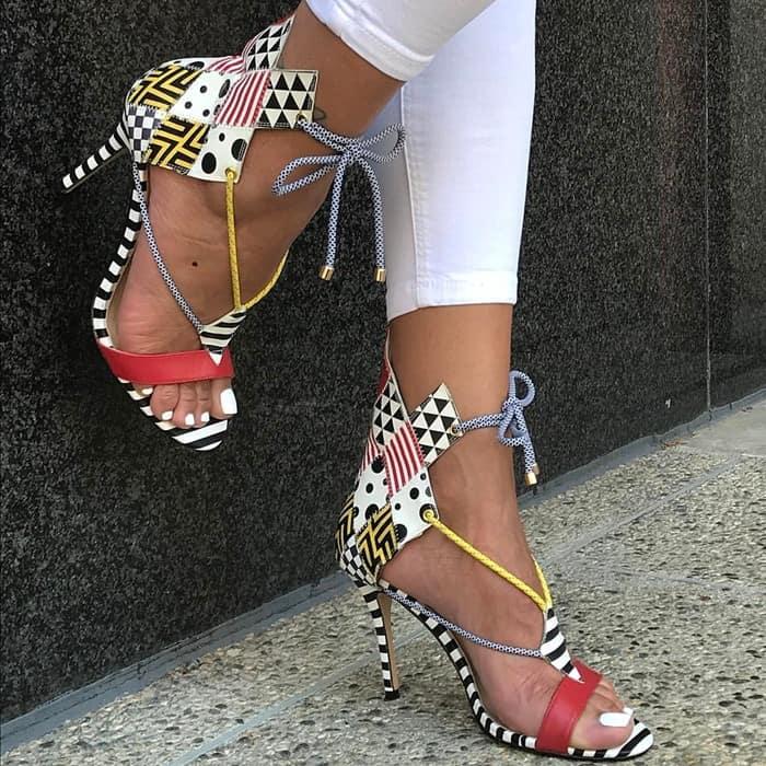 Hand Stitched 'Carmela' Heels