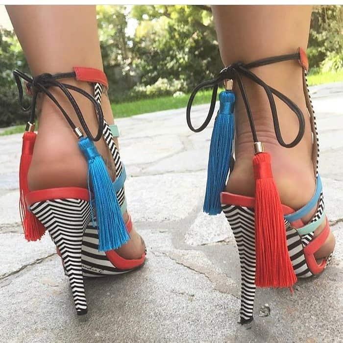 Tasseled 'Gijon' Sandals
