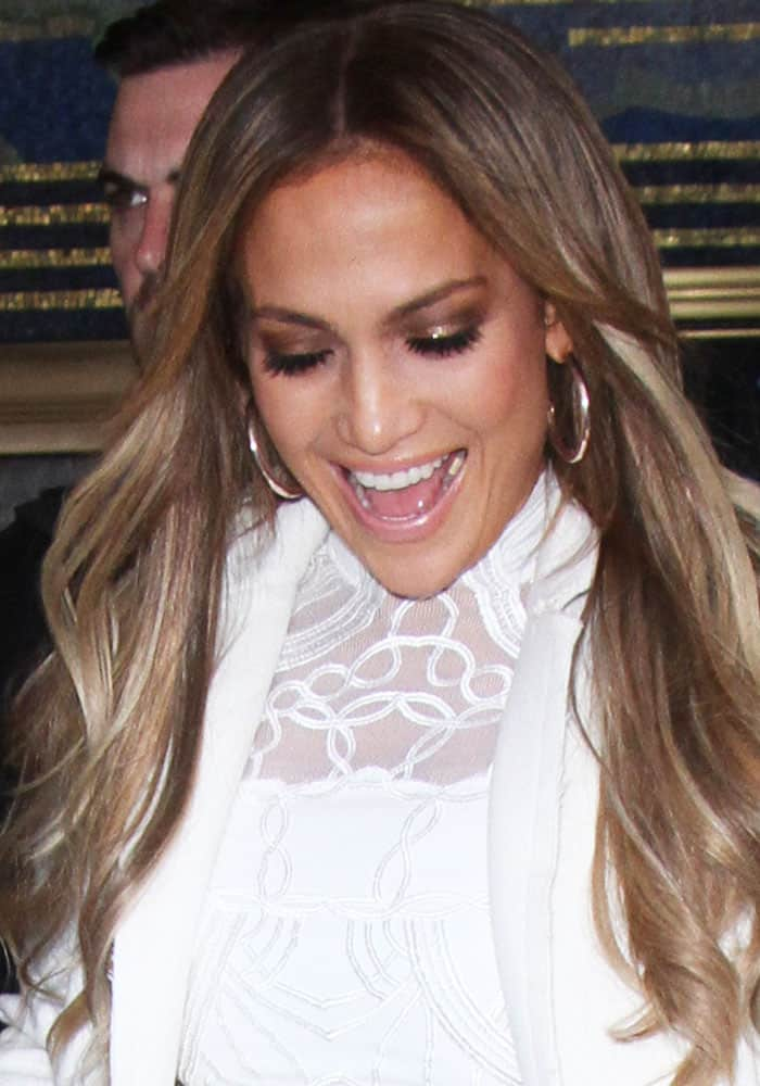 J.Lo at the 30 ROCK NBC Studios in New York on May 8, 2017