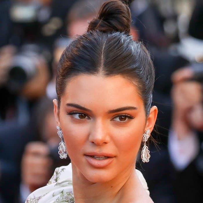 Kendall Jenner's glittering Chopard diamond earrings