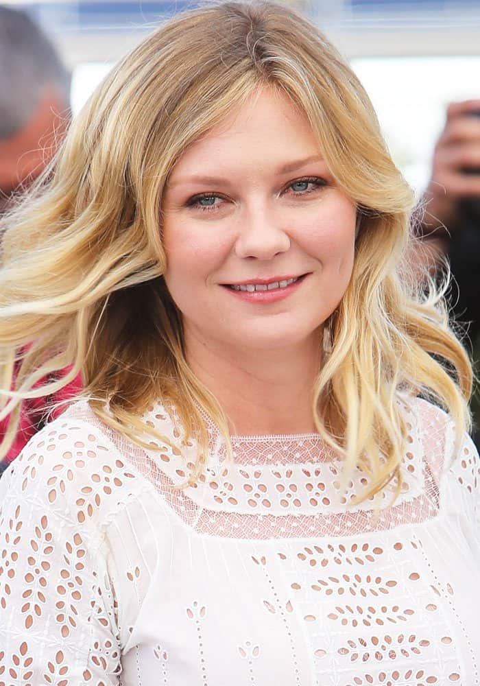 77588fa5ece Kirsten Dunst at the 70th Cannes Film Festival at the