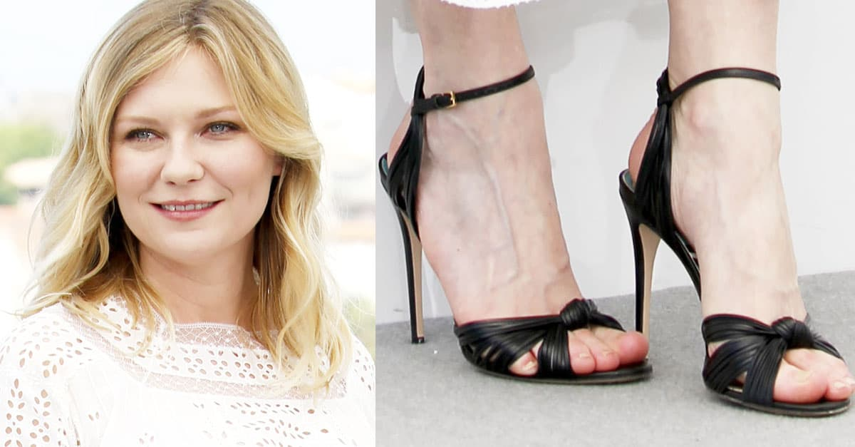 2ca3eca0bf2 Kirsten Dunst Promotes  The Beguiled  at Cannes in Gucci  Allie  Sandals