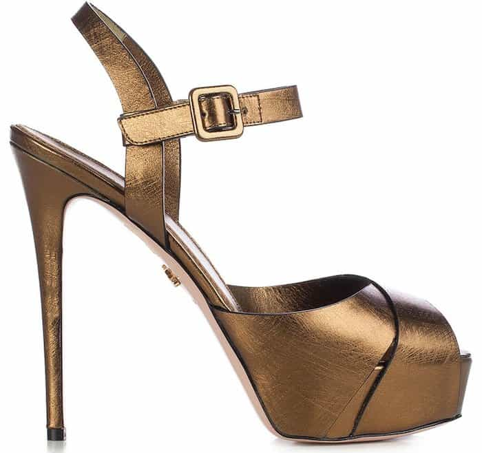 Le Silla ankle strap sandals