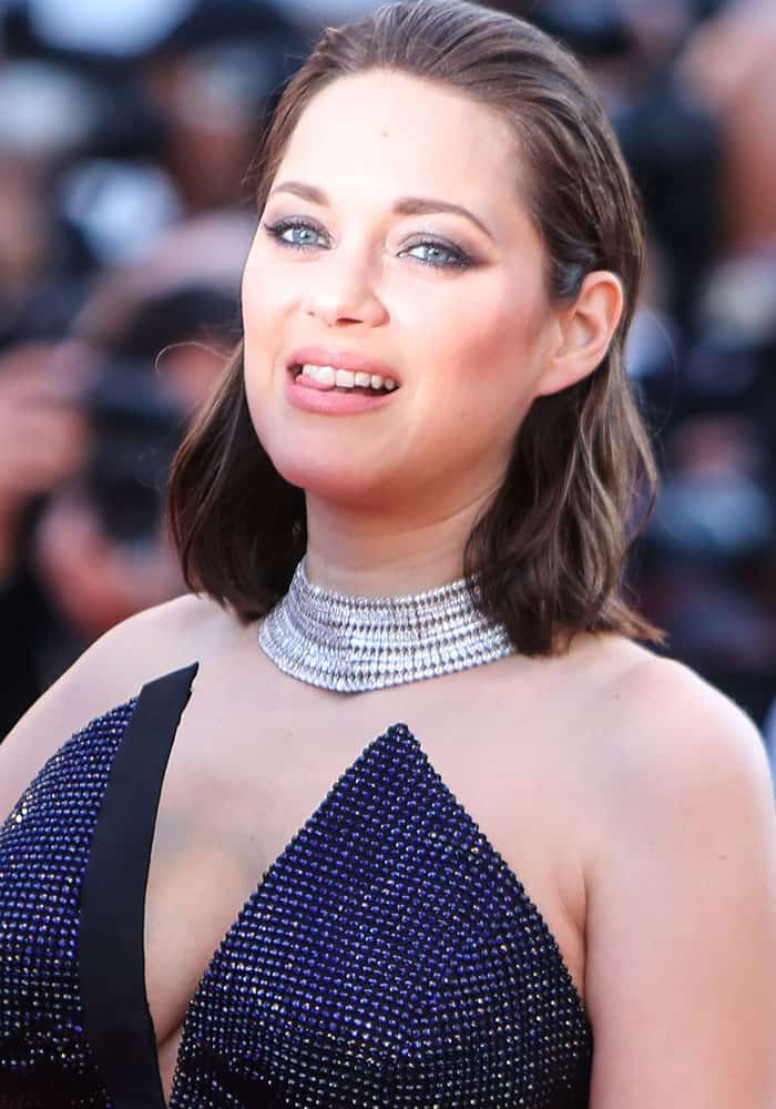 Marion Cotillard at the 2017 Cannes Film Festival gala in Cannes, France on May 23, 2017