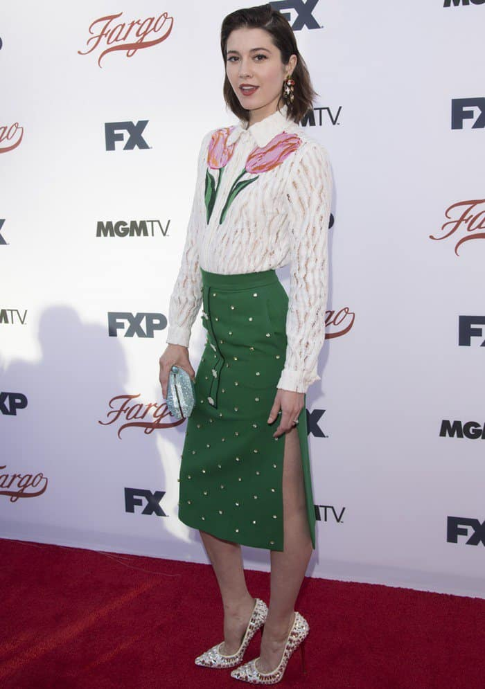 Mary Elizabeth Winstead at FX's 'Fargo' For Your Consideration Event in North Hollywood, California, on May 11, 2017