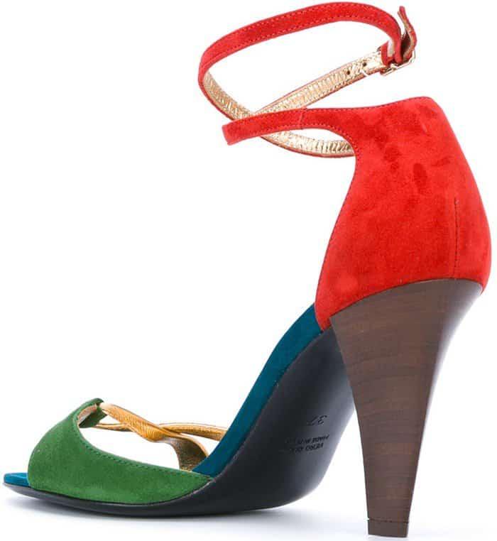 Michel Vivien 'Pomezia' block heel sandals
