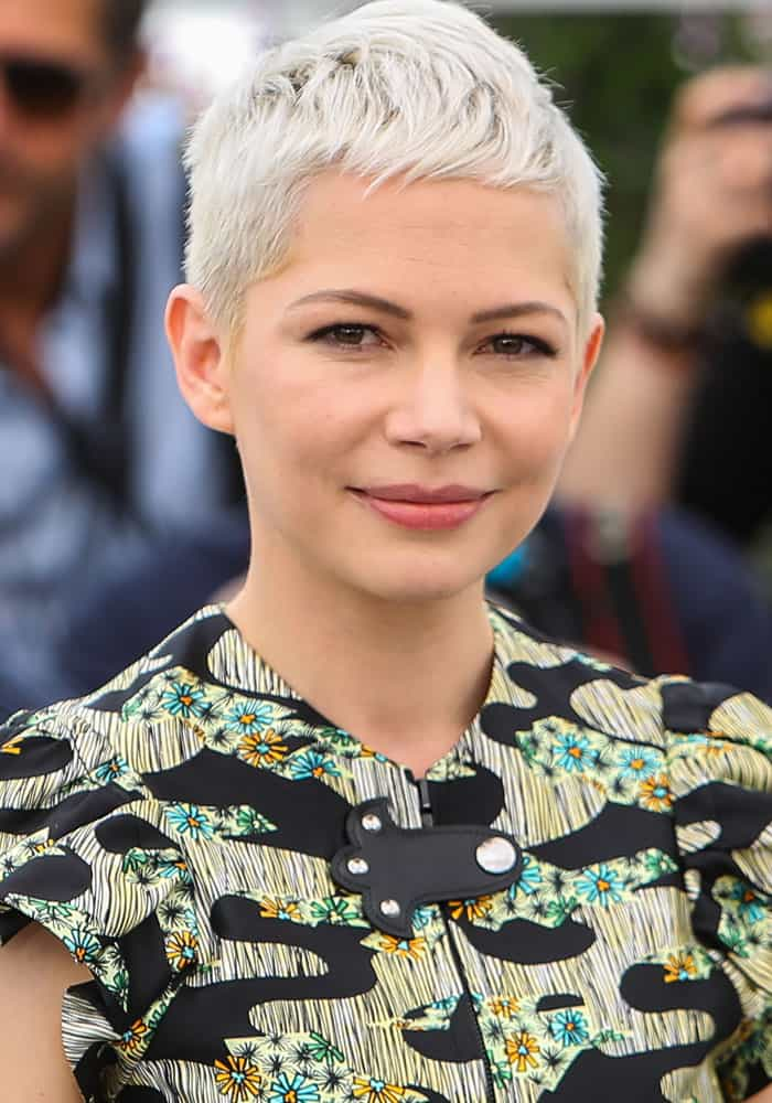 "Michelle Williams at the 70th annual Cannes Film Festival photocall for ""Wonderstruck"" in Cannes, France on May 18, 2017"