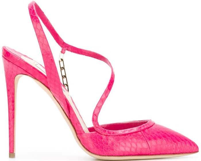 Olgana Paris La Troublante Pumps Pink