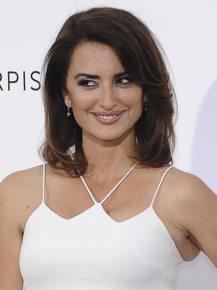 Penelope Cruz the launch of the new Carpisa capsule collection in Madrid