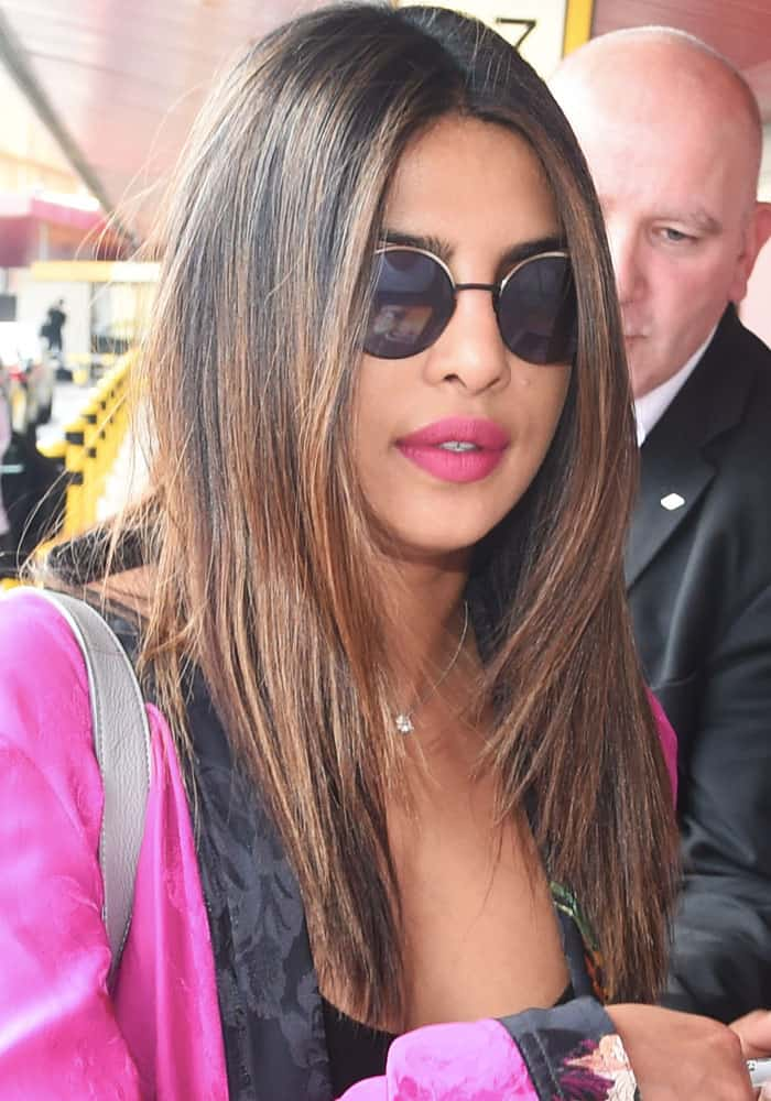 Priyanka Chopra arriving at Airport Berlin Tegel on May 29, 2017