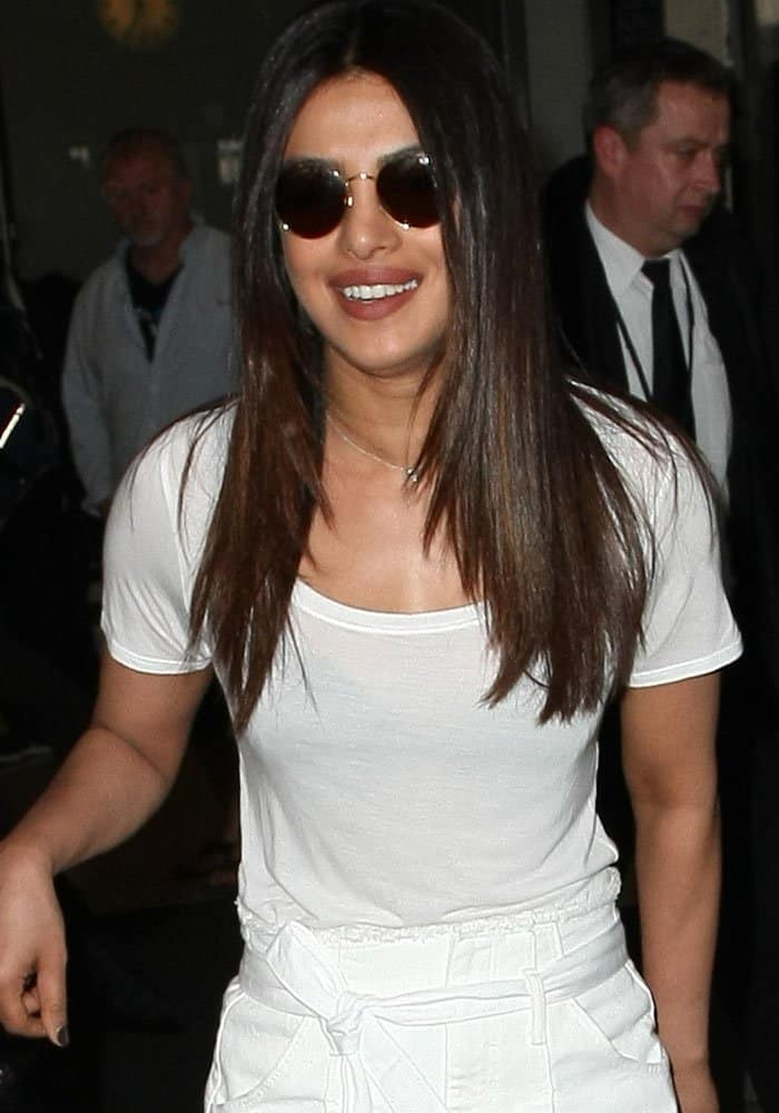 Priyanka Chopra arrives at Los Angeles International Airport (LAX) on May 8, 2017