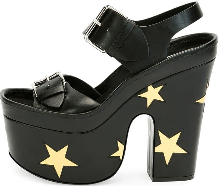 Stella McCartney Star Platform Sandals