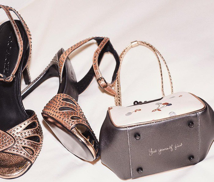 The Coach team also customized accessories for Selena