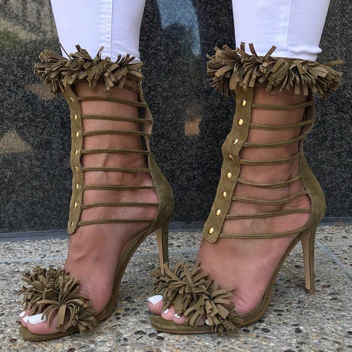 Chic 'Venice' Sandals With Gold Ornaments