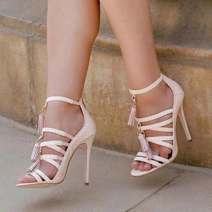 Tasseled 'Yazmin' Heels