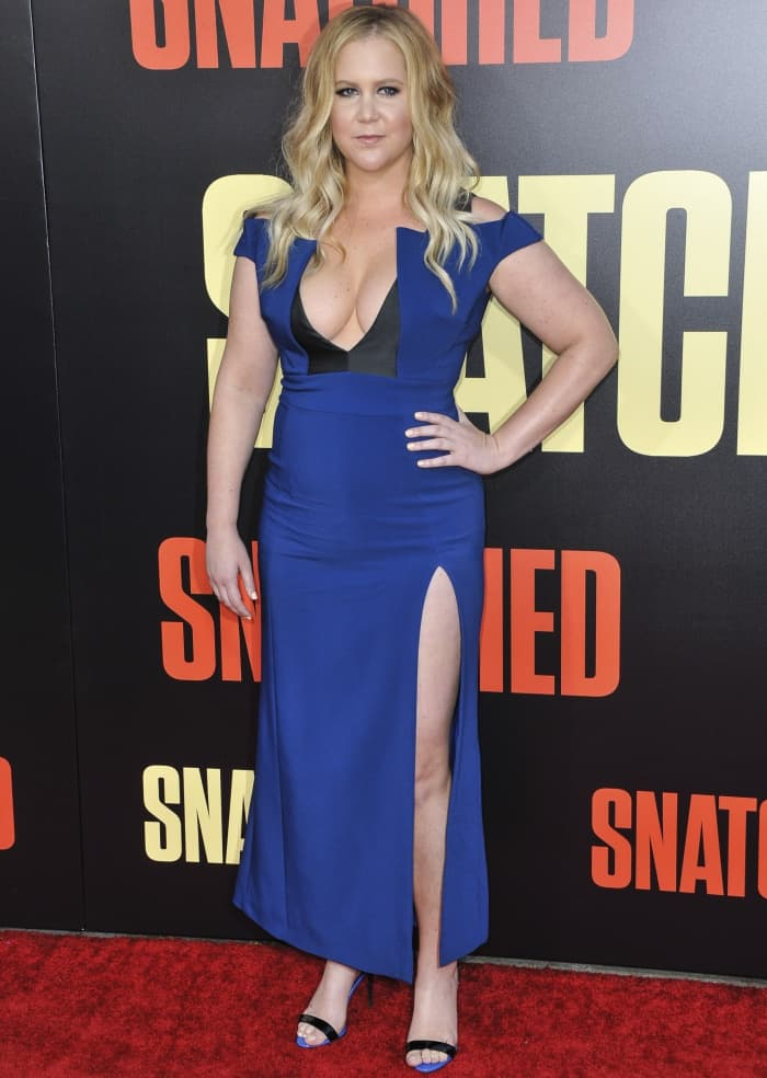 """Amy Schumer at the premiere of """"Snatched"""" held at the Regency Village Theatre in Los Angeles"""