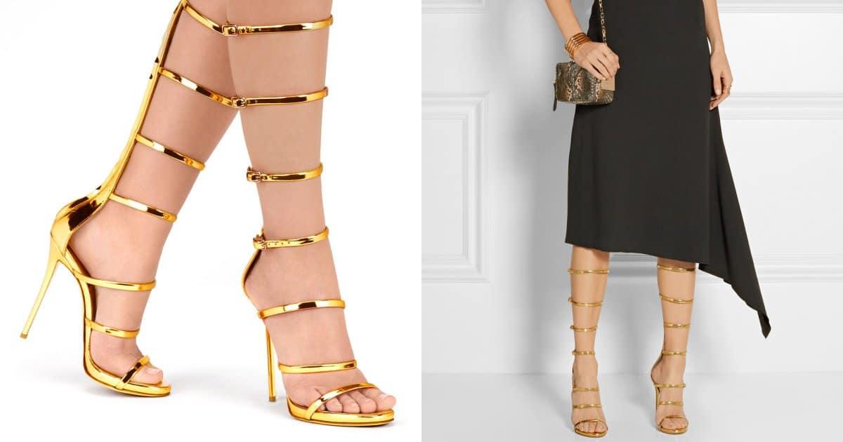 21bc66ccd8f Make a Daring Fashion Statement in Giuseppe Zanotti s  Super Harmony   Sandals