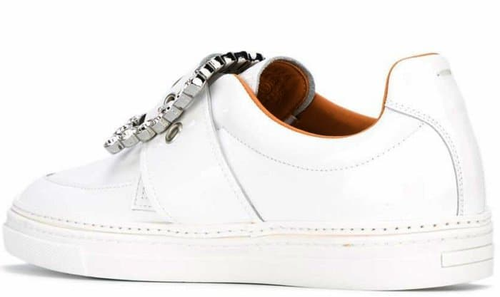 Maison Margiela Embellished Buckle Sneakers