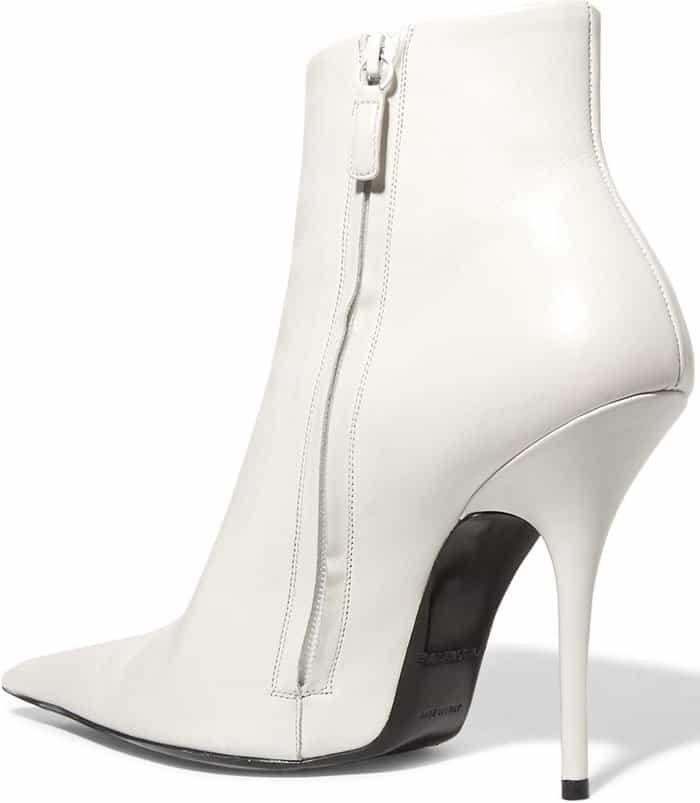 Balenciaga leather ankle boots