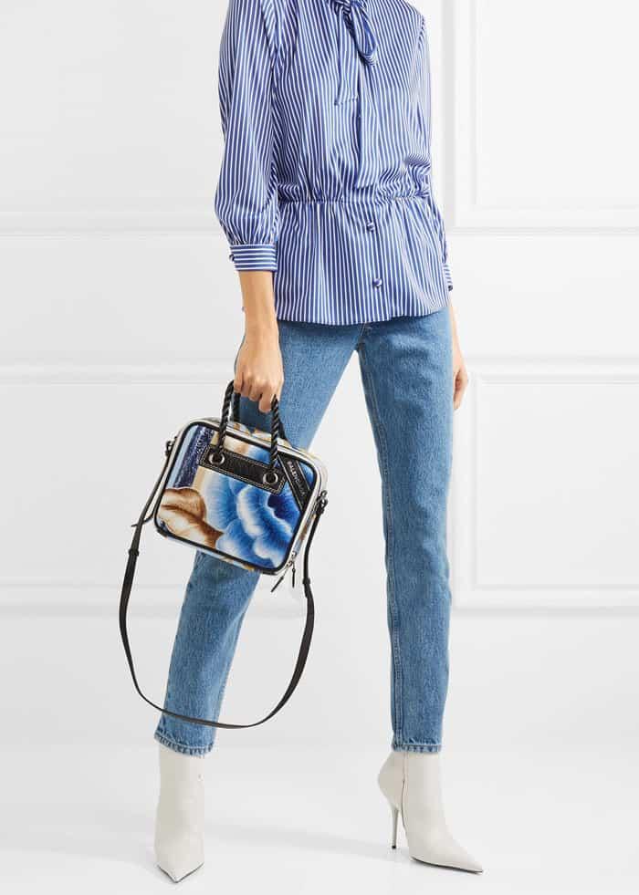 Emily Ratajkowski Bares Abs In Crop Top And Balenciaga Boots