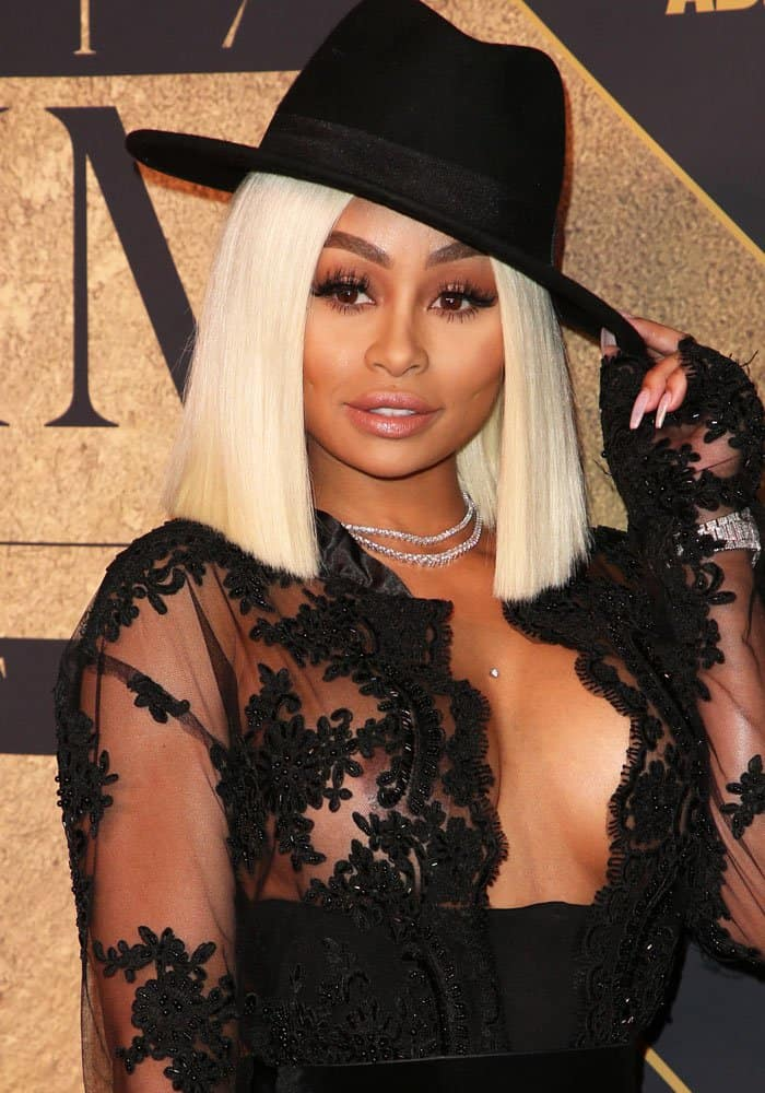 Blac Chyna at the 2017 Maxim Hot 100 party in Hollywood on June 24, 2017