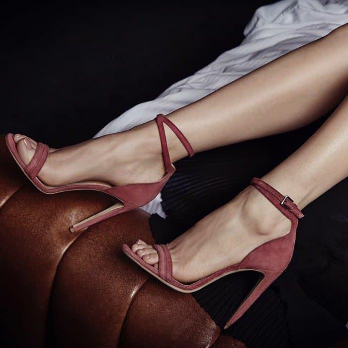Chloe Gosselin Narcissus sandals