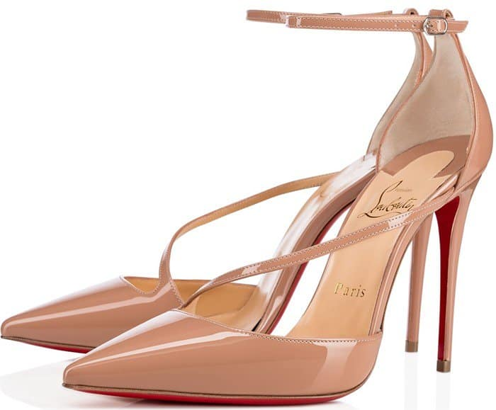 Christian Louboutin 'Fliketta' 100 Pointy-Toe Pumps
