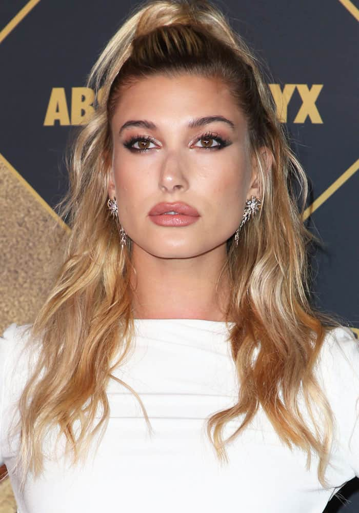 Hailey Baldwin at the 2017 Maxim Hot 100 party in Hollywood on June 24, 2017