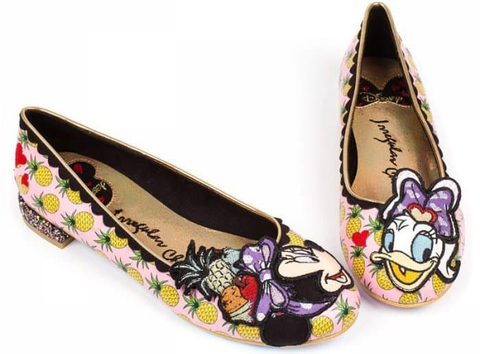 "Irregular Choice ""How Do I Look"" flats"