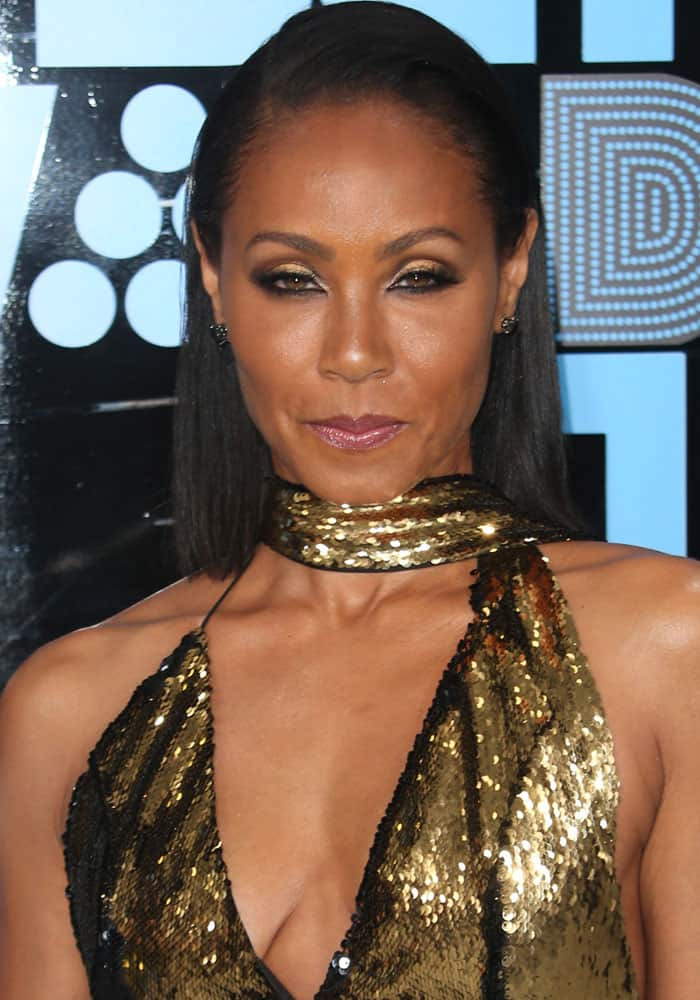 Jada Pinkett Smith at the 2017 BET Awards held at the Microsoft Theater in Los Angeles on June 25, 2017