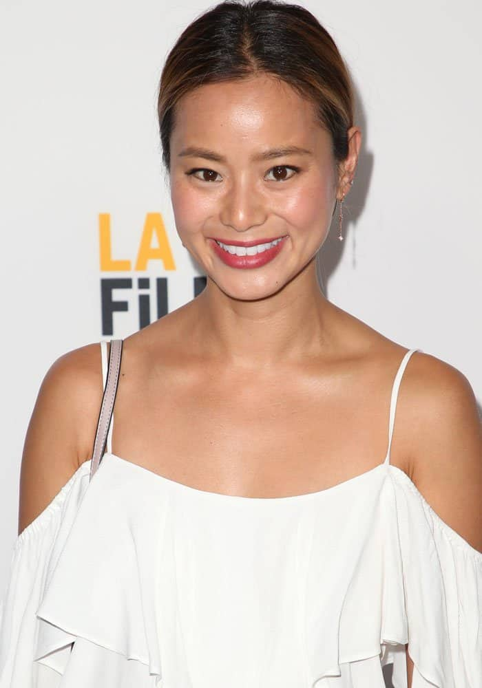 "Jamie Chung at the 2017 Los Angeles Film Festival premiere of ""Sun Dogs"" on June 19, 2017"