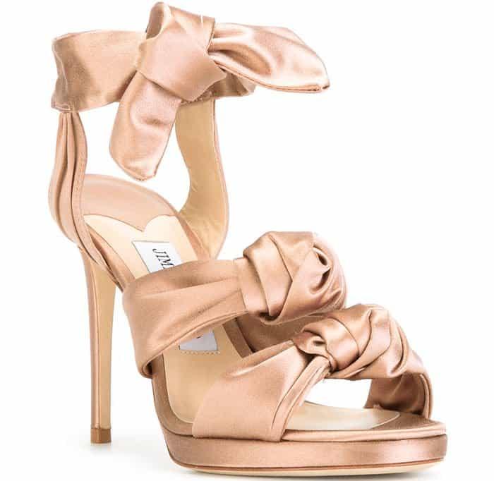 Jimmy Choo Kris bow sandals