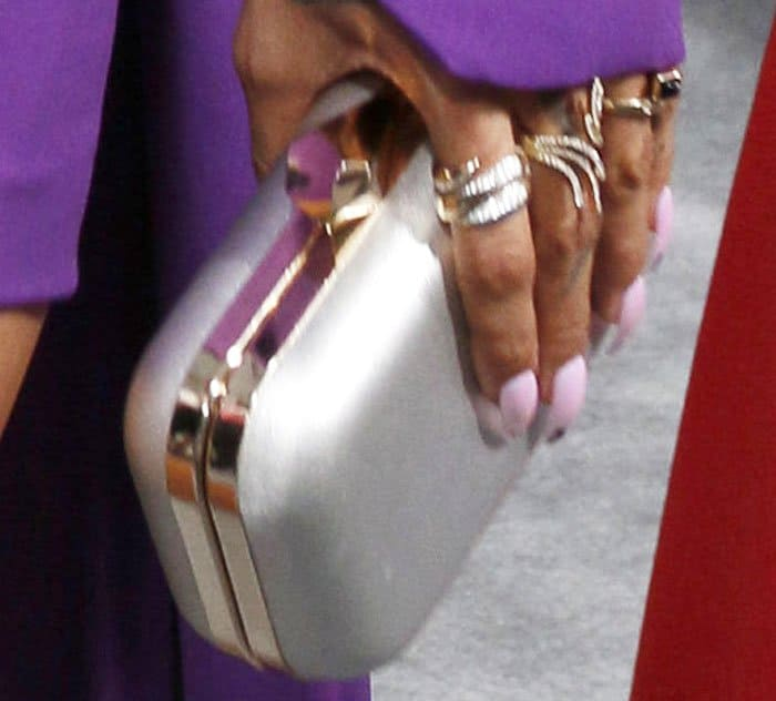 Karrueche layers up on accessories from Effy Jewelry