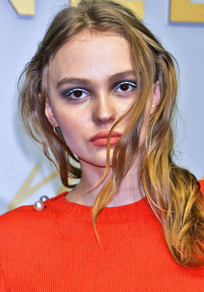 Lily-Rose Depp at the Chanel Métiers d'Art Fashion Show in Tokyo, Japan on May 31, 2017