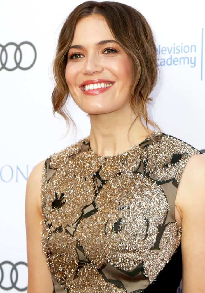 Mandy Moore at the 10th Television Academy Honors held at the Montage Hotel in Beverly Hills on June 8, 2017