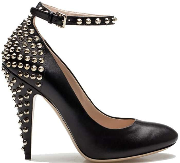 Miu Miu studded pumps