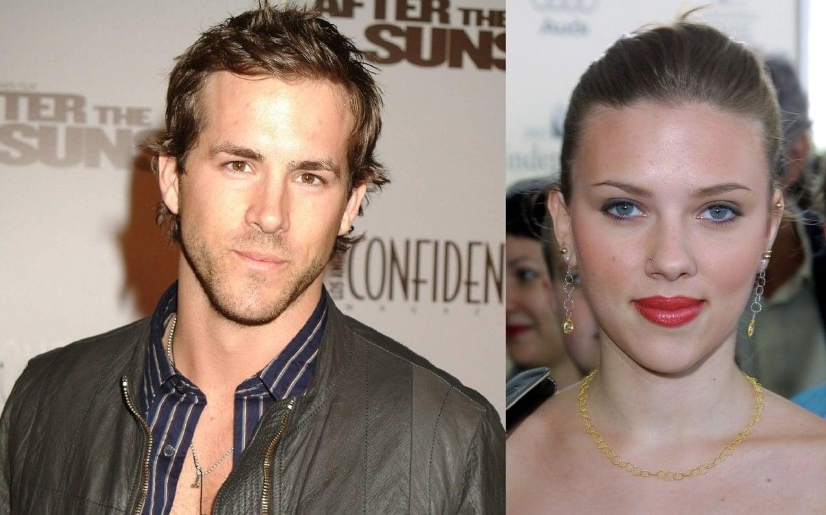 Ryan Reynolds is eight years older than Scarlett Johansson