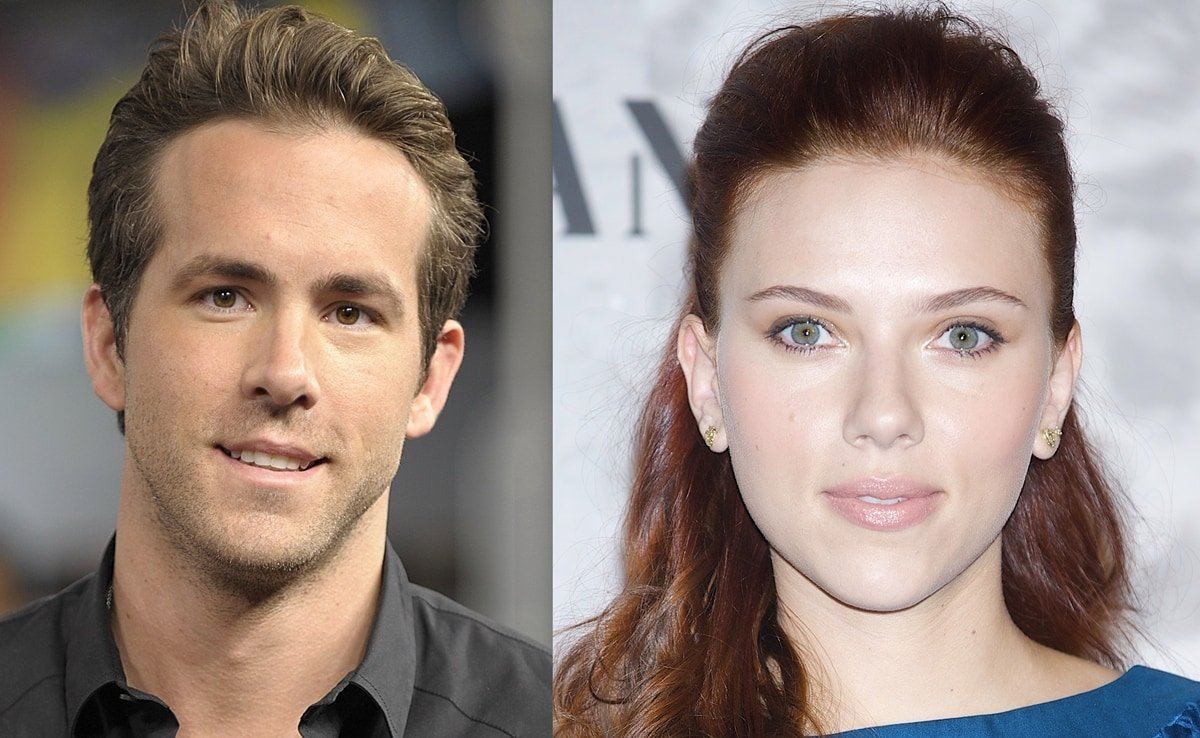 Ryan Reynolds and Scarlett Johansson got married in 2008 and divorced in 2010