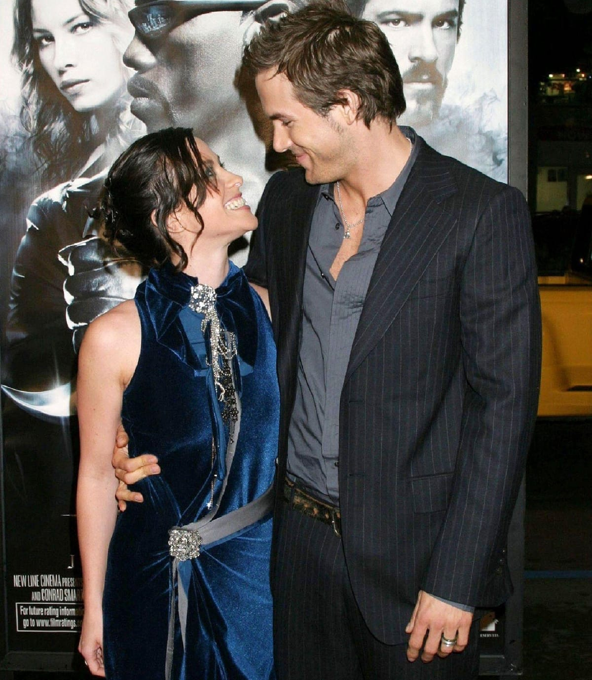 Ryan Reynolds and Alanis Morissette began dating in 2002 and broke up in 2008