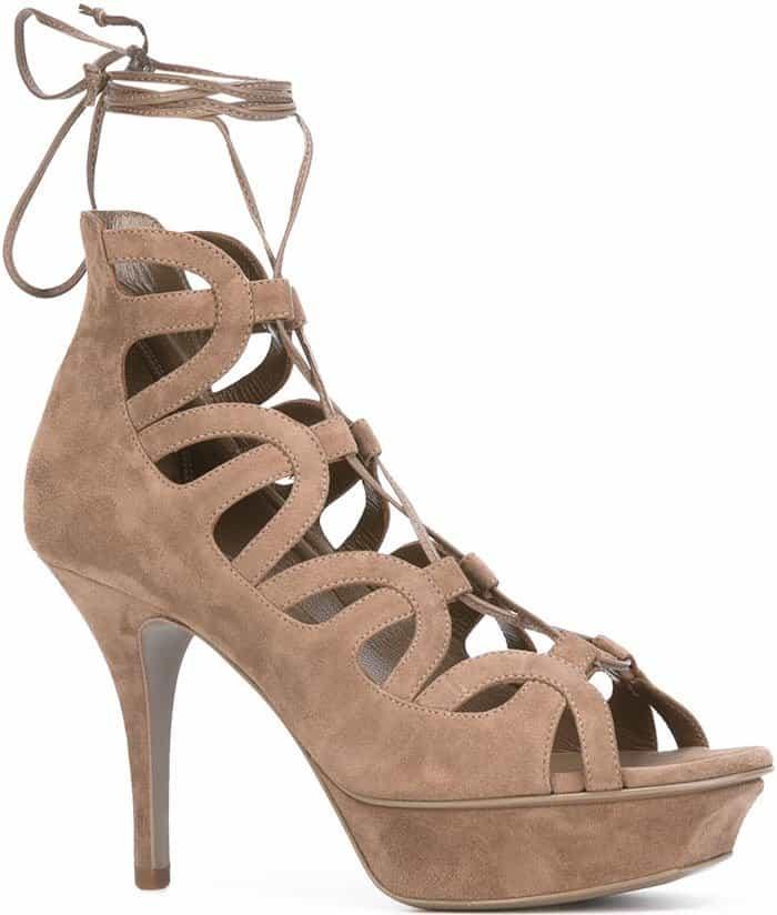 Saint Laurent Tribute Sixteen platform sandals