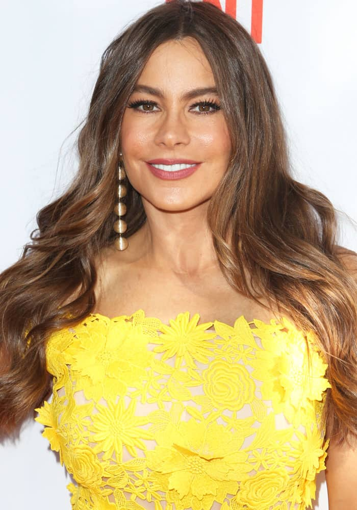 """Sofia Vergara at theLos Angeles Film Festival for the premiere of """"The Female Brain"""" in Culver City on June 18, 2017"""
